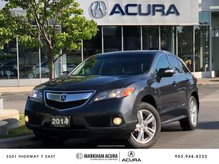 Used 2014 Acura RDX V6 AWD for sale in Markham, ON