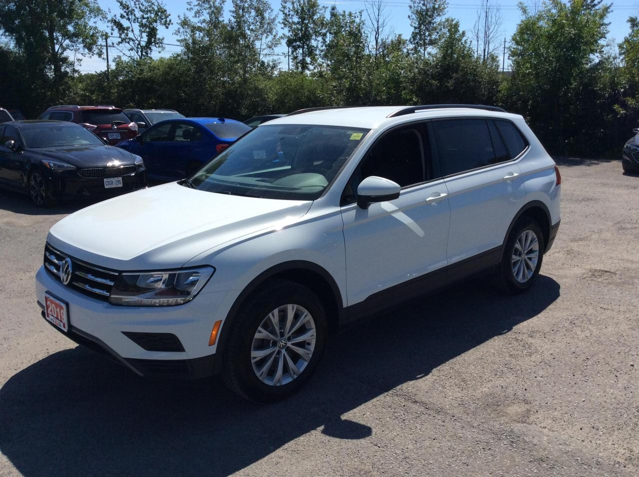 used 2019 volkswagen tiguan trendline 4motion - back up camera - heated seats for sale in ottawa, ontario carpages.ca
