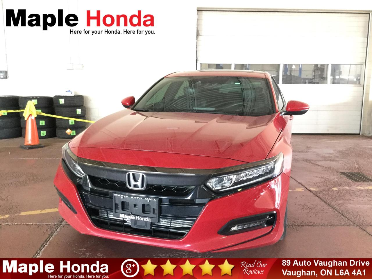 used 2018 honda accord sport auto-start sunroof backup cam for sale in vaughan, ontario carpages.ca