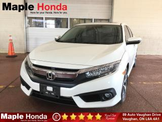 Used 2016 Honda Civic Touring| Loaded| Leather| Navi| Tint| for sale in Vaughan, ON