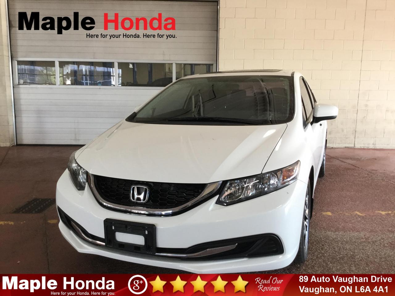 used 2015 honda civic ex sunroof backup cam tint for sale in vaughan, ontario carpages.ca