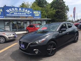 Used 2016 Mazda MAZDA3 SPORT GT for sale in Oshwa, ON