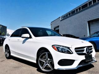 Used 2015 Mercedes-Benz C 300 |4MATIC|PANORAMIC|HEATED MEMORY SEATS|NAVI|REAR VIEW CAM| for sale in Brampton, ON
