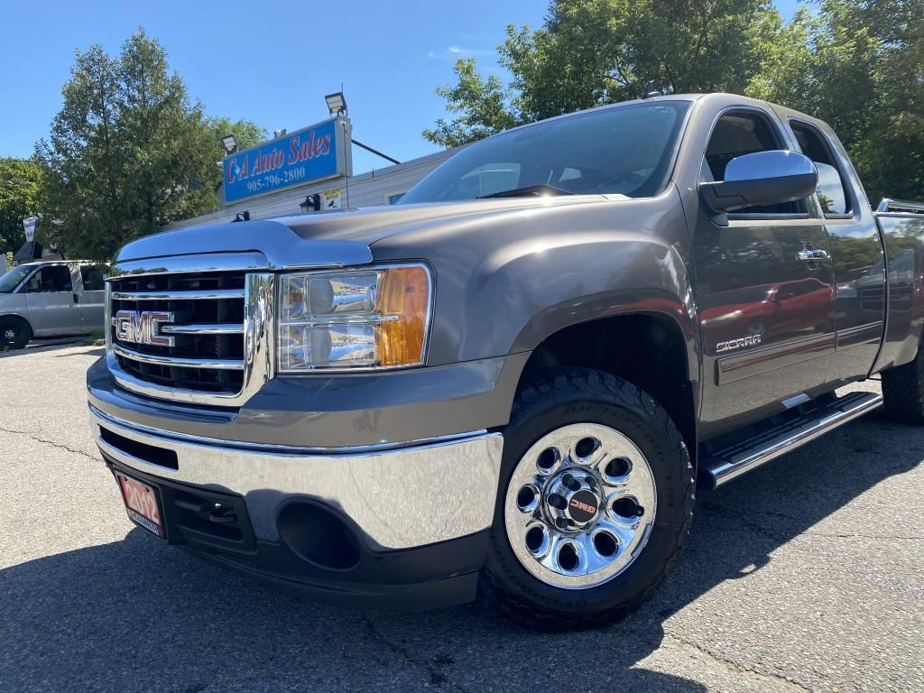 used 2012 gmc sierra 1500 4wd ext cab 143.5 sl nevada edition accident free great con for sale in brampton, ontario carpages.ca