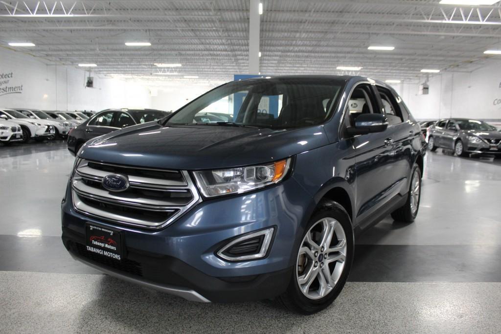 used 2018 ford edge titanium i leather i navigation i rear cam i carplay i bt for sale in mississauga, ontario carpages.ca