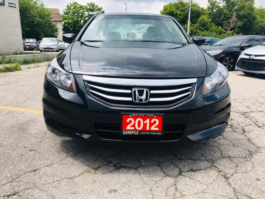 used 2012 honda accord sedan 4dr i4 auto ex-l for sale in barrie, ontario carpages.ca