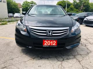 Used 2012 Honda Accord Sedan 4dr I4 Auto EX-L for sale in Barrie, ON