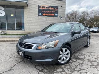 Used 2008 Honda Accord 4dr I4 Auto EX for sale in Barrie, ON
