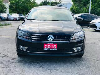 Used 2016 Volkswagen Passat 4DR SDN 1.8 TSI AUTO COMFORTLINE for sale in Barrie, ON