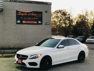 Used 2017 Mercedes-Benz C-Class 4dr Sdn C300 4MATIC for sale in Barrie, ON