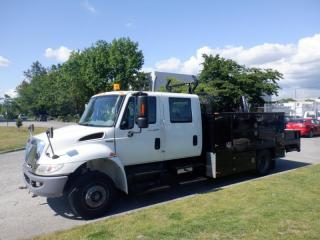 Used 2009 International 4300 Durastar Diesel Crane Service Truck with Air Brakes for sale in Burnaby, BC