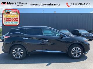 Used 2018 Nissan Murano AWD SL  - Sunroof -  Navigation - $189 B/W for sale in Ottawa, ON