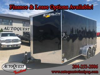 Used 2021 SOUTHLAND 7' x 16' V-Nose Cargo Trailer for sale in Winnipeg, MB