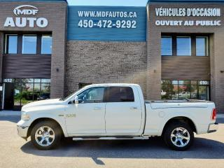 Used 2017 RAM 1500 LARAMIE CREW CAB for sale in St-Eustache, QC
