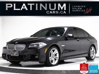 Used 2013 BMW 5 Series 550i xDrive, M-SPORT, EXEC, DRIVERS ASST, NAV, CAM for sale in Toronto, ON