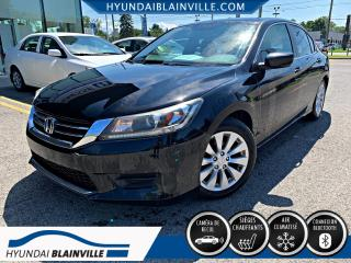Used 2013 Honda Accord LX CAMÉRA DE RECUL, BLUETOOTH, MAGS for sale in Blainville, QC