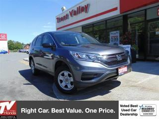 Used 2016 Honda CR-V LX AWD (1) Owner for sale in Peterborough, ON