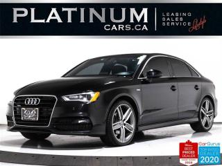 Used 2015 Audi A3 2.0T quattro Progressiv, AWD, S-LINE, HEATED, SUNR for sale in Toronto, ON