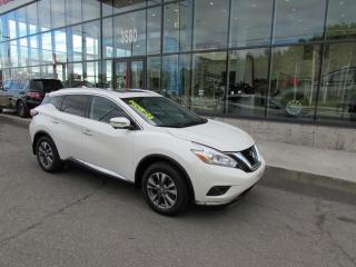 Used 2017 Nissan Murano SL AWD GPS*TOIT*CAMÉRAS for sale in Lévis, QC