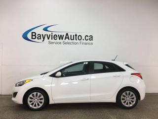 Used 2016 Hyundai Elantra GT GL - 6SPD! A/C! HATCH! PWR GROUP! for sale in Belleville, ON