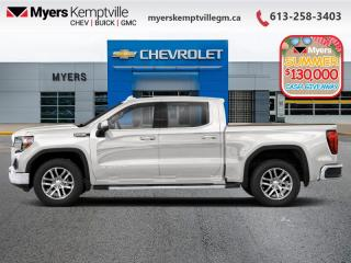 New 2020 GMC Sierra 1500 AT4  - Sunroof - Navigation for sale in Kemptville, ON