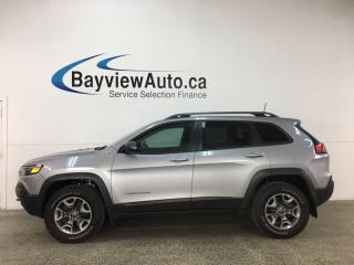 Used 2019 Jeep Cherokee Trailhawk - 4X4! HTD LEATHER! U-CONNECT! + MUCH MORE! for sale in Belleville, ON