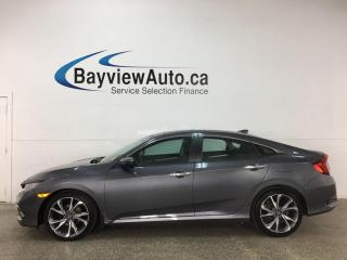 Used 2019 Honda Civic Touring - HTD LTHR! NAV! SUNROOF! 18