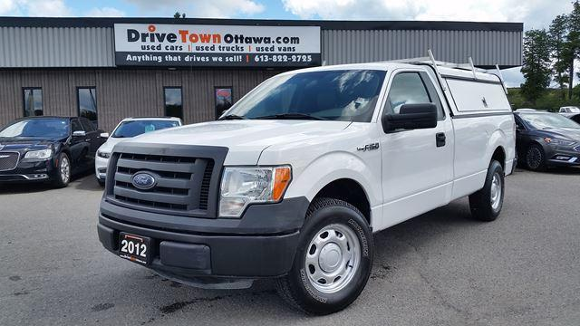 2012 Ford F-150 8 FT BOX WITH CONTRACTOR CAP