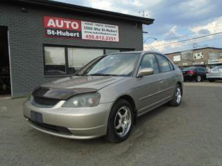 Used 2003 Honda Civic LX for sale in St-Hubert, QC
