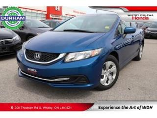 Used 2015 Honda Civic LX for sale in Whitby, ON