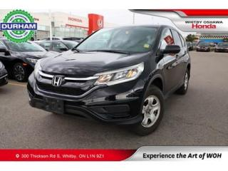 Used 2015 Honda CR-V 2WD 5dr LX for sale in Whitby, ON