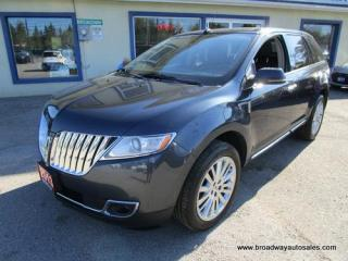 Used 2013 Lincoln MKX LOADED ALL-WHEEL DRIVE 5 PASSENGER 3.7L - V6.. NAVIGATION.. DUAL SUNROOF.. LEATHER.. HEATED/AC SEATS.. BACK-UP CAMERA.. BLUETOOTH.. for sale in Bradford, ON