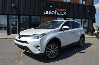 Used 2017 Toyota RAV4 LIMITED/NAVI/BSM/LEATHER/ROOF/NO CLAIMS for sale in Concord, ON