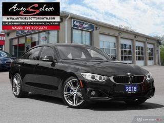 Used 2016 BMW 428i Gran Coupe xDrive AWD ONLY 83K! **TECHNOLOGY PKG** SPORT PKG for sale in Scarborough, ON