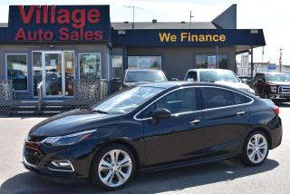 Used 2018 Chevrolet Cruze Premier Auto Bluetooth! Sun Roof! Heated Steering Wheel! for sale in Saskatoon, SK