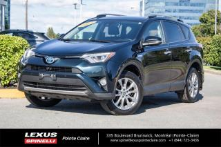 Used 2017 Toyota RAV4 Hybrid **LIMITED HYBRIDE** **TOUTE EQUIPPE**CUIR**GPS**CAMERA DE RECULE**TOIT OUVRANT** for sale in Montréal, QC
