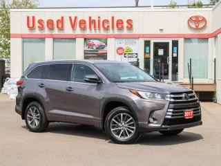 Used 2017 Toyota Highlander XLE AWD LEATHER SUNROOF ALLOYS NAVI HEATED SEATS for sale in North York, ON