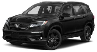 Used 2019 Honda Pilot Black Edition AWD, 3.5L V6, ADAPTIVE CRUISE CONTROL, HEATED & COOLED SEATS for sale in Huntsville, ON