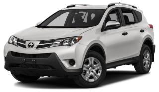 Used 2015 Toyota RAV4 EXTREMELY LOW MILEAGE!! ALL-WHEEL DRIVE for sale in Huntsville, ON