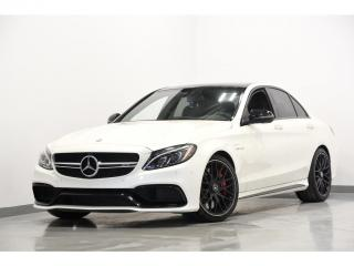 Used 2016 Mercedes-Benz C-Class AMG AMG C 63 S RWD  BLACK OPTIC BAS MILLAGE for sale in Brossard, QC