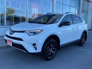 Used 2018 Toyota RAV4 Hybrid SE HYBRID-LEATHER+NAV+MORE! for sale in Cobourg, ON