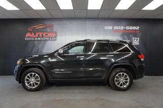 Used 2016 Jeep Grand Cherokee LIMITED 4X4 CUIR TOIT PANO GPS NAV FULL 77 023 KM for sale in Lévis, QC