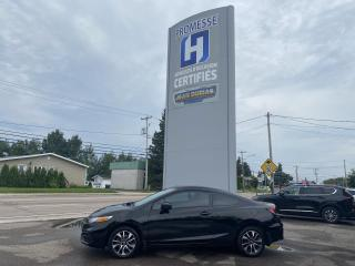 Used 2015 Honda Civic MODELE EX, 2 PORTES, BOITE MANUELLE for sale in St-Félicien, QC