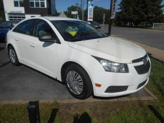Used 2011 Chevrolet Cruze LS berline 4 portes avec 1SA for sale in Sorel-Tracy, QC