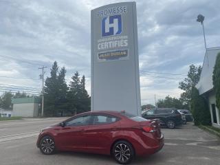Used 2016 Hyundai Elantra MODÈLE GL 1 SEUL PROPRIO BAS KILOS for sale in St-Félicien, QC