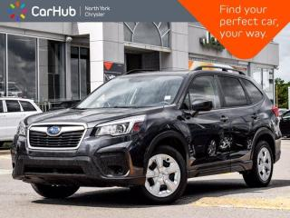 Used 2019 Subaru Forester 2.5i AWD Heated Seats Backup Camera Apple CarPlay / Android Auto for sale in Thornhill, ON