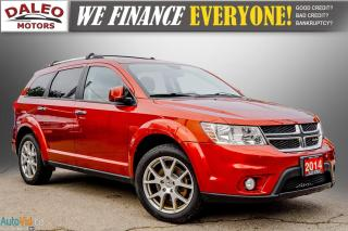 Used 2014 Dodge Journey RT / LEATHER / NAVI / DVD / MOONROOF / BACKUP CAM for sale in Hamilton, ON