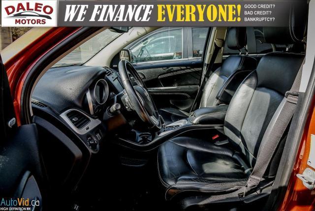 2014 Dodge Journey RT / LEATHER / DVD / MOONROOF / BACKUP CAM Photo12