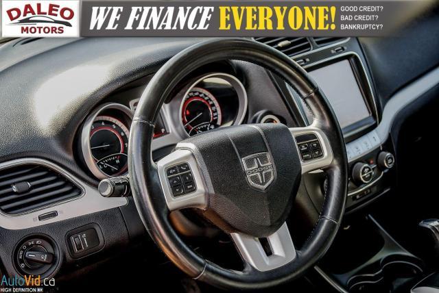 2014 Dodge Journey RT / LEATHER / DVD / MOONROOF / BACKUP CAM Photo21