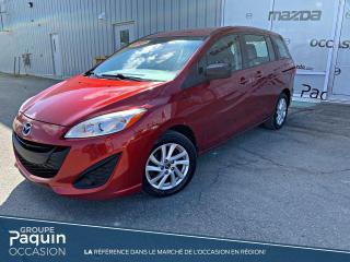 Used 2014 Mazda MAZDA5 GS idéal pour la famille! for sale in Rouyn-Noranda, QC
